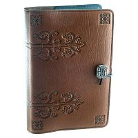 Large Da Vinci Leather Journal - Journals & Pens, Leather Bound Journals