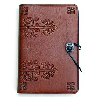 Large Da Vinci Leather Journal