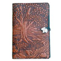 Large Creekbed Maple Leather Journal