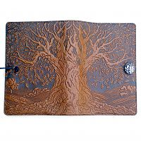 Large Ancient Oak Tree Leather Journal