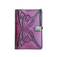 Small Butterfly Leather Journal