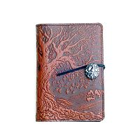 Small Ancient Oak Tree Leather Journal