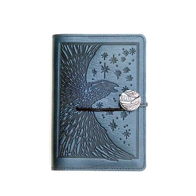 Small Raven Leather Journal