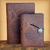 Oak Tree Leather Journal