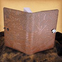 Creekbed Maple Leather Journal