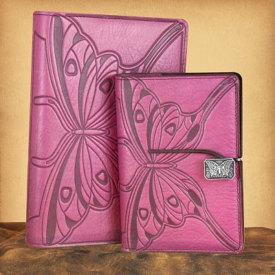 Butterfly Leather Journal
