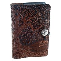 Ancient Oak Tree Leather Journal