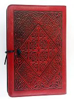 Diamond Knotwork Leather Journal
