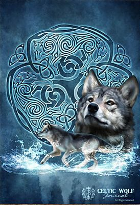Celtic Wolf Blank Book For You At Gryphon S Moon
