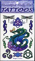 Dragon's Lair Temporary Tattoos - Temporary Tattoos, Here Be Dragons!