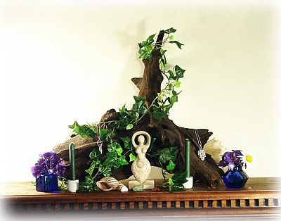 Mother Nature Altar