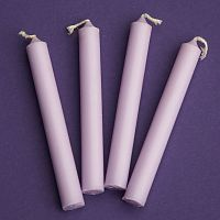Lavender Mini Chime Ritual Spell Candles