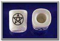 Pair of Pentacle Candle Holders