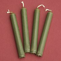 Green Mini Chime Ritual Spell Candles