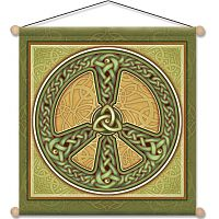 Celtic Peace Meditation Banner - Banners & Flags