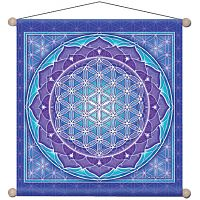 Flower of Life Meditation Banner - Banners & Flags