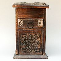 Tall Celtic Chest