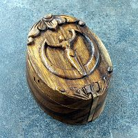 Goddess Puzzle Box - Pagan, Boxes, Goddess