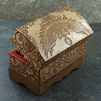 Leather Owl Box - Boxes, Owls