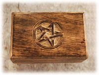 Wooden Pentacle Box