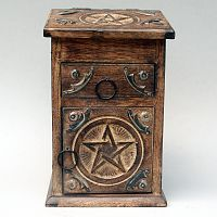 Tall Pentacle Chest