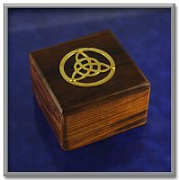 Wooden Triquetra Box - Boxes & Bottles, Gifts for Students