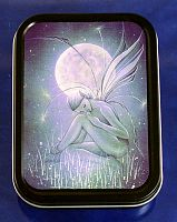 Moon Petal Fairy Tin - Boxes, Fairies, Gifts for Dreamers