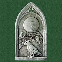 Raven's Moon Plaque