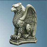 Vigilant Gryphon - Gryphons, Gryphon & Gargoyle Statuary, Gifts for Guys, Shop Now for Dads Grads!