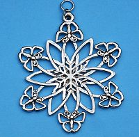 Butterfly Snowflake Ornament