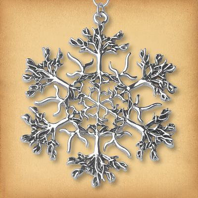 Forest Magic Christmas Tree Ornament