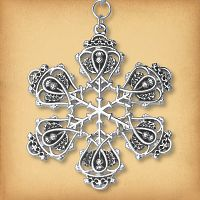 Scottish Luckenbooth Christmas Tree Ornament