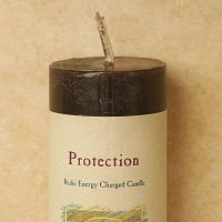 Reiki-Charged Protection Pillar Candle
