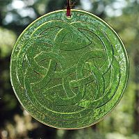Celtic Knot Suncatcher