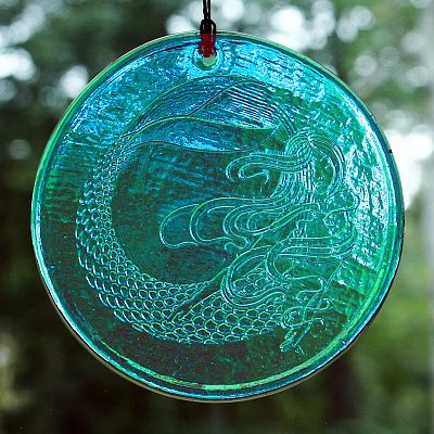 Mermaid Suncatcher - Suncatchers, Mermaids, Ocean Mysteries