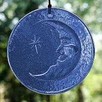 Moonbeams Suncatcher - Suncatchers, Moons & Stars, Moonlight Madness, Gifts Under $15, Gifts Under $20