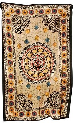 Celtic Sunflowers Tapestry - Tapestries & Bedspreads