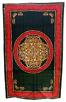 Multi-color Celtic Medallion Tapestry - Tapestries & Bedspreads