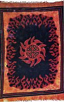 Tribal Sun Tapestry - Tapestries & Bedspreads, Moons & Stars