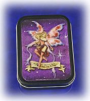 """Believe"" Fairy Tin - Boxes, Fairies, Gifts for Fairy Lovers"