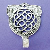 Celtic Knot Wall Hook - Pewter Wall Hooks, Kitchen Accessories