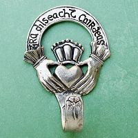 Claddagh Wall Hook - Reiki Candles, Candles, Holders, Altar Accessories, Hearts & Romance
