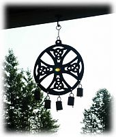 Celtic Cross Wind Chimes
