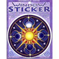 Celestial Mandala Window Sticker