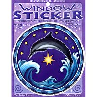 Dolphin Dance Window Sticker