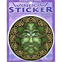 Emerald Magic Window Sticker