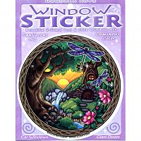 Enchanted Forest Window Sticker