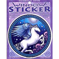 Pegasus Window Sticker - Window Stickers, Horses