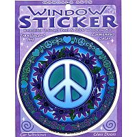 Signs of Peace Window Sticker