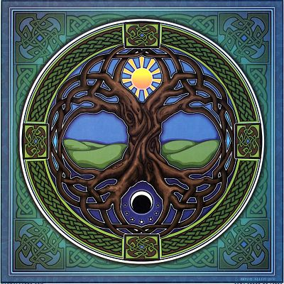 Tree of Life Illumination Art